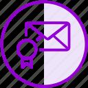 bookmark, email, envelope, favorite, inbox, letter, mail