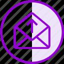email, envelope, inbox, letter, mail, upload
