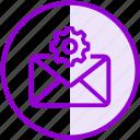 email, envelope, inbox, letter, mail, setting