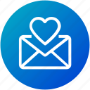 email, envelope, favorite, inbox, letter, love letter, mail icon