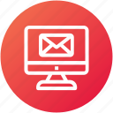 computer, email, envelope, inbox, internet, letter, mail icon