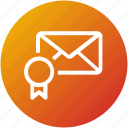 bookmark, email, envelope, favorite, inbox, letter, mail icon
