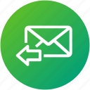 email, envelope, inbox, letter, mail, send icon