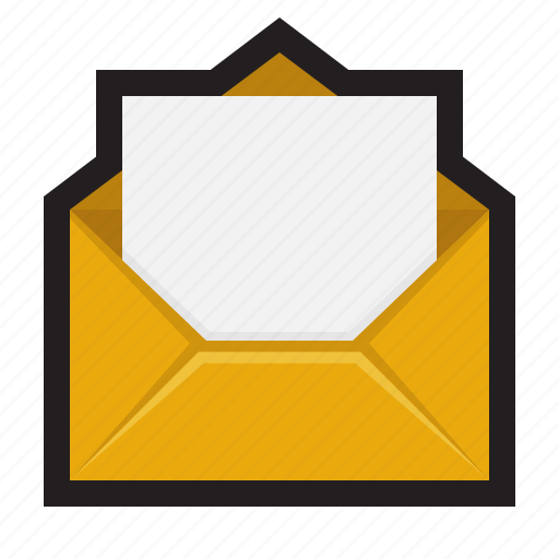 Draft, email, letter, mail, open, write icon - Download on Iconfinder