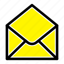email, mail, message, sms