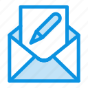 compose, edit, email, envelope, mail icon