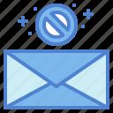 block, communication, delete, mail, message