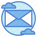 communication, email, envelope, mail, message