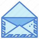 email, envelope, interface, mail, message icon