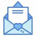 email, hearts, letter, love, romantic, valentines