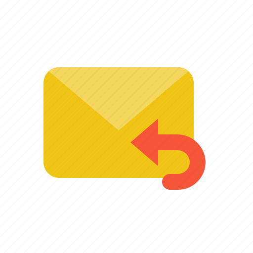 Email, letter, mail, reply, send icon - Download on Iconfinder