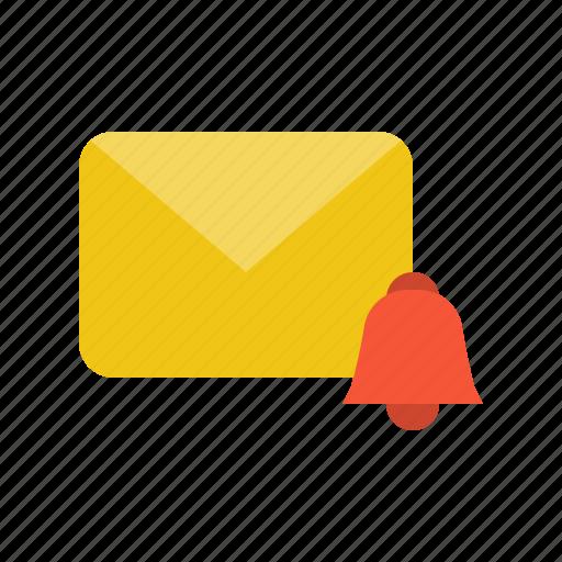 Alarm, alert, email, letter, mail icon - Download on Iconfinder