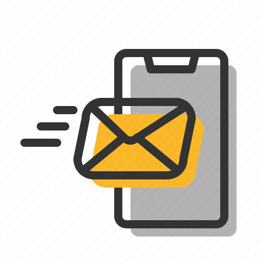 Email, fast, letter, mail, receive, smartphone icon - Download on Iconfinder