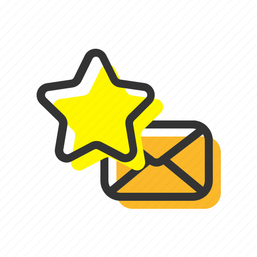 Email, favorite, letter, mail icon - Download on Iconfinder