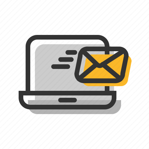 email, fast, letter, mail, notebook, send icon