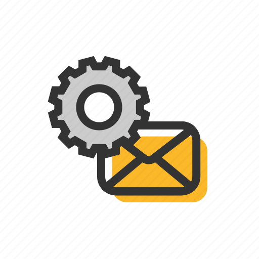 Email, letter, mail, setting icon - Download on Iconfinder