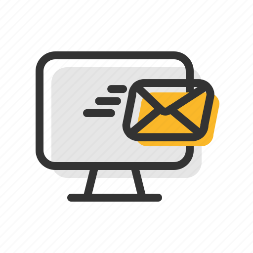 Computer, email, fast, letter, mail, send icon - Download on Iconfinder