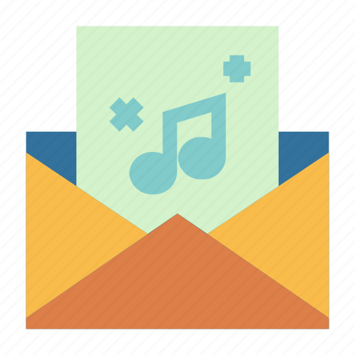communication, email, file, mail, message, multimedia icon