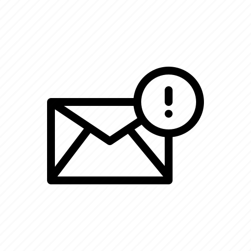 alart, email, mail, message, notification icon