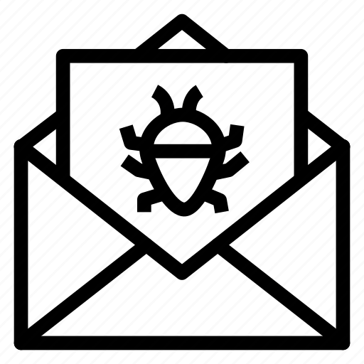 Bug, contact, email, envelope, letter, mail, message icon - Download on Iconfinder