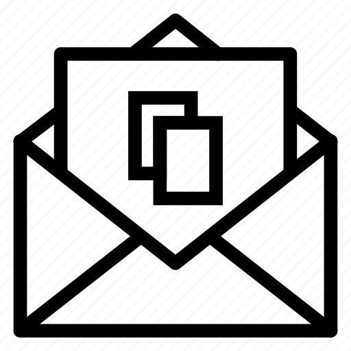Contact, email, envelope, layer, letter, mail, message icon - Download on Iconfinder
