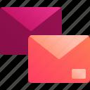 email, envelope, inbox, mail, message, messaging, send