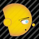 avatar, cartoon, emoji, emoji icon set, emoticon, face, smiley icon