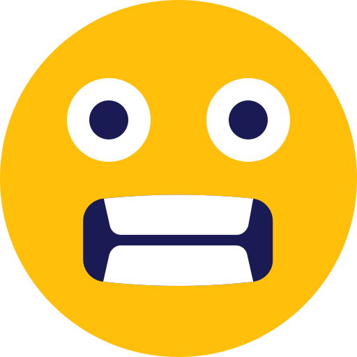 fear, scared, surprised icon