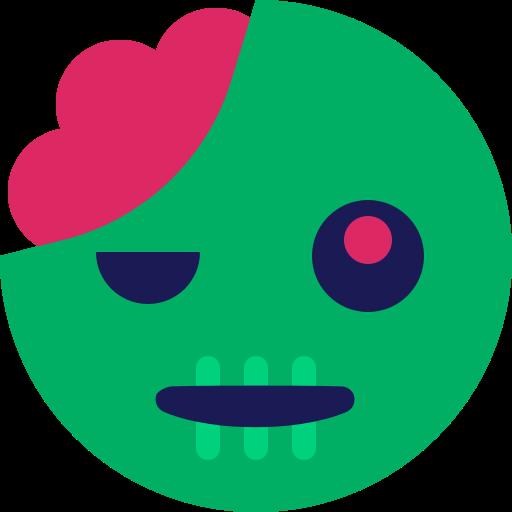 emoji, head, zombie icon