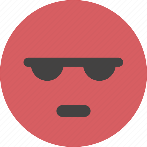 angry, avatar, emoji, face, red, upset icon