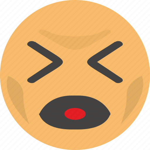baby, cry, emoji, face, scream icon