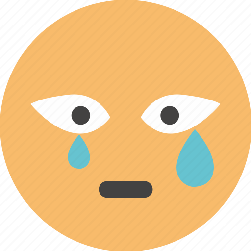 baby, crying, emoji, face, feel, weeping icon