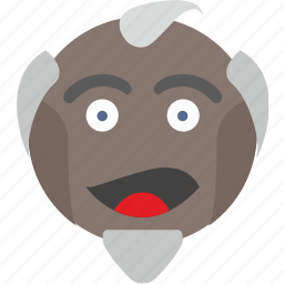 avatar, emoji, face, joke, man, old, teacher icon