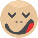 emoji, emotion, face, sleep, smiley icon