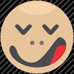emoji, emotion, face, sleep, smiley icon