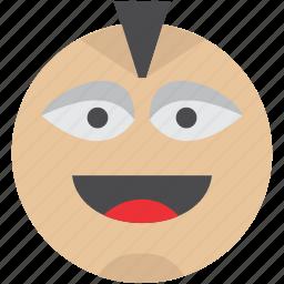 emoji, emoticons, face, happy, party, smile, smiley icon