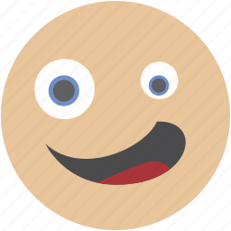 avatar, emoji, face, smile, smiley, wink icon
