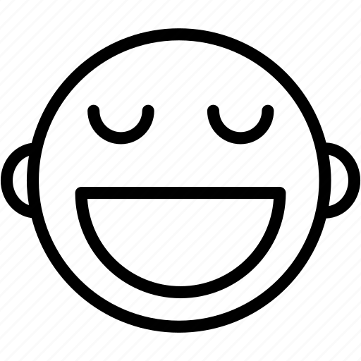 Emoticons, happy, emoji, emotion, face, smile, smiley icon - Download on Iconfinder