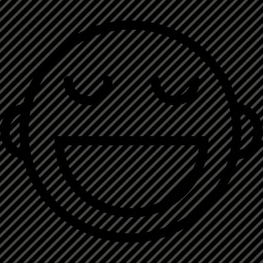 emoji, emoticons, emotion, face, happy, smile, smiley icon
