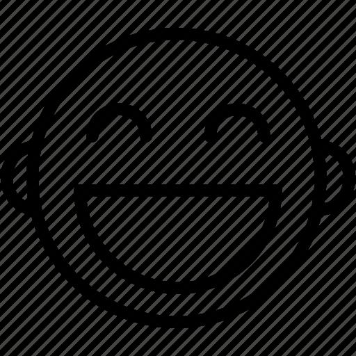 Emoticons, happy, emoji, emotion, face, smiley icon - Download on Iconfinder