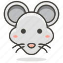 animal, head, mouse icon