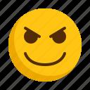 angry, emoji, emoticon, emotion, expression, mad icon