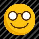 cool, emoji, emoticon, face, happy, smiley, sunglass