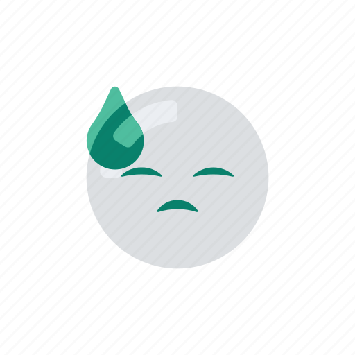 embarressed, emoji, emoticon, emotion, irritated icon