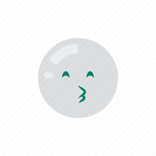 emoji, emoticon, emotion, kiss, smiley, smooch icon