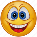 laugh, character, emoji, face, emotion, smiley, cartoon