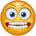 cartoon, character, dull, emoji, emotion, face, stare