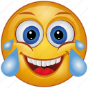 cartoon, character, emoji, emotion, face, laugh, smiley