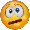 cartoon, character, emoji, emotion, face, thinking, upset