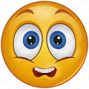 cartoon, character, emoji, emotion, face, nervous, sad